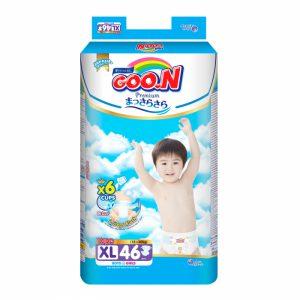 Bỉm - Tã dán Goon Premium size XL 46 miếng (cho bé 12-20kg)